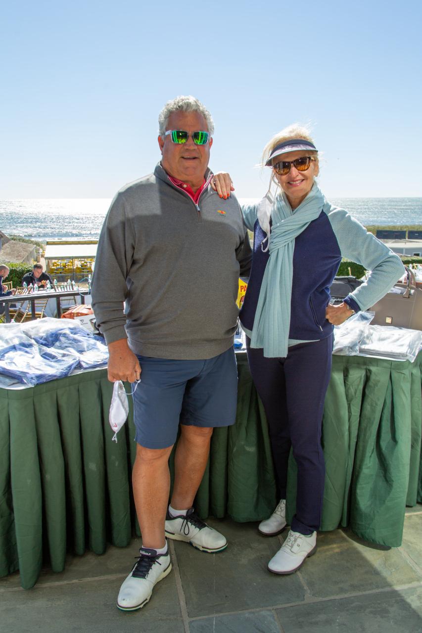 Rick Cerone and Ann Liguori