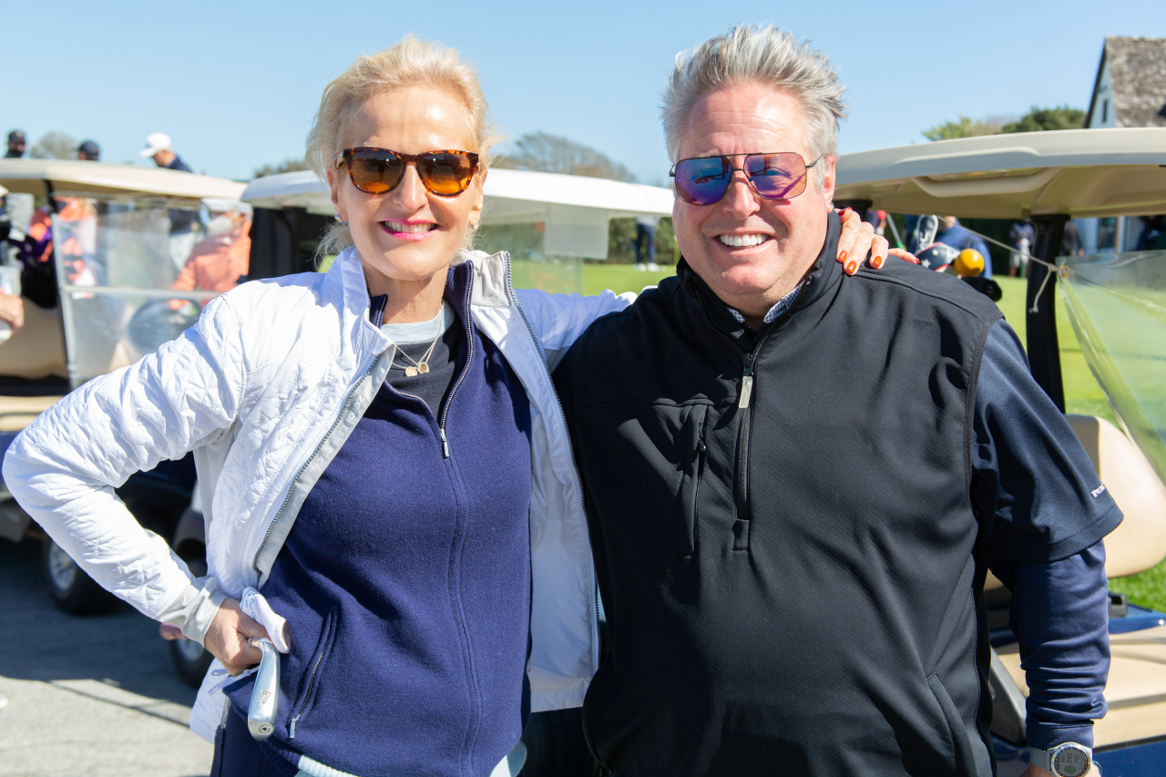 Ann with comedian/actor Gary Valentine