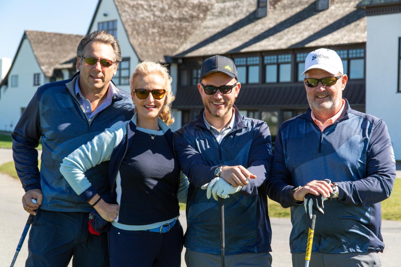 Scott Vallary, Ann Liguori, Christian Skidgel and Steve Skidgel