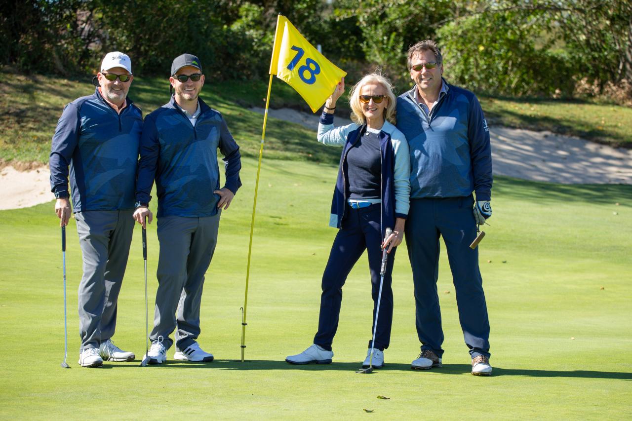 Steve Skidgel, Christian Skidgel, Ann Liguori, Scott Vallary