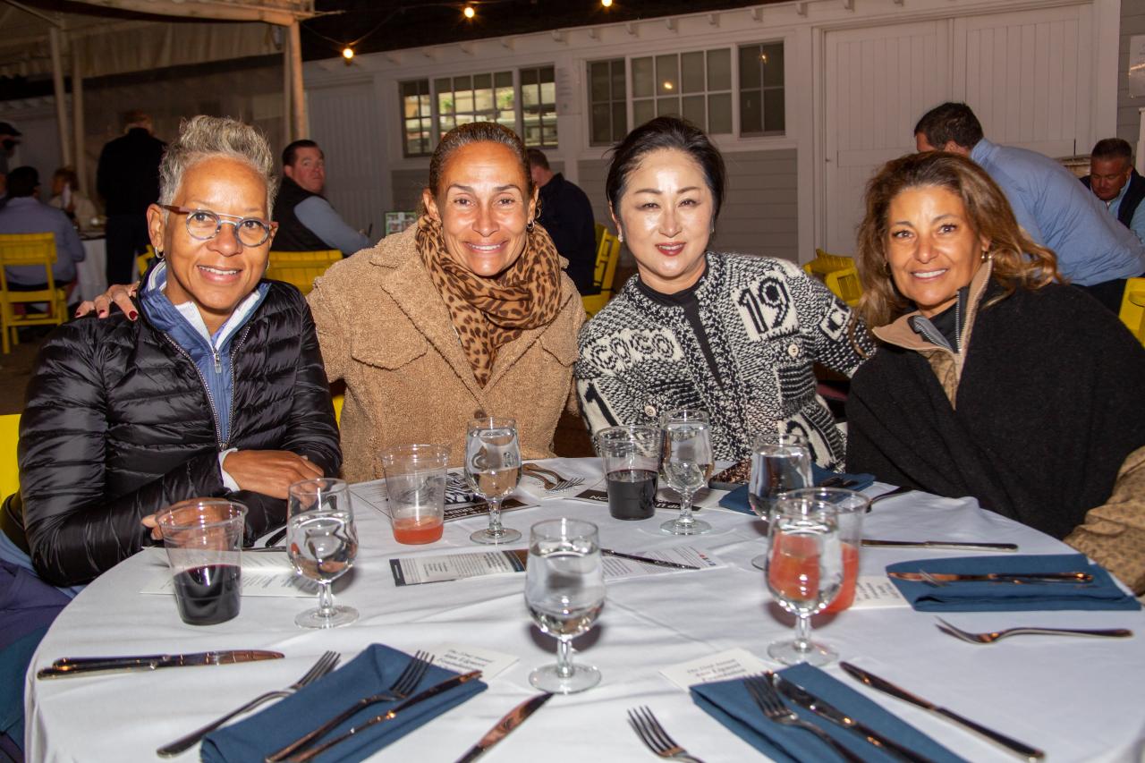 Katrina Adams, Roberta Graves, Haeshin Lee and Lourdes Perez Berkeley